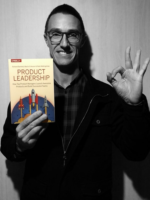 Me and Product Leadership book